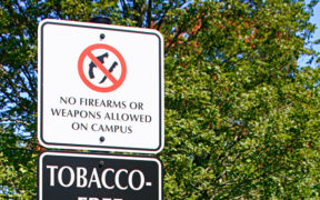 no guns on college campus