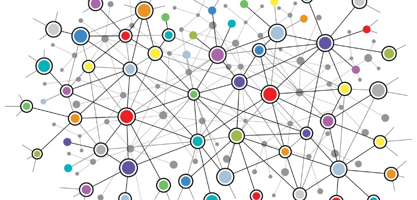 Interconnected nodes of many colors