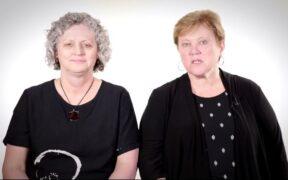 Lorna Rourke and Lorraine Carter